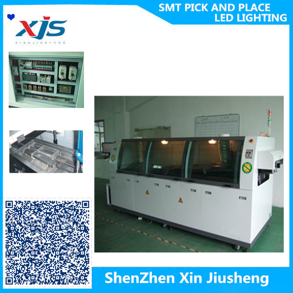 shenzhen manufactuer XJS WS-350PC-LF wave soldering machine