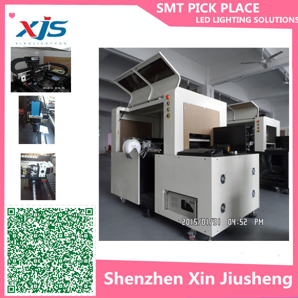 Good aftersales and free training service led smd smt pick and place machine