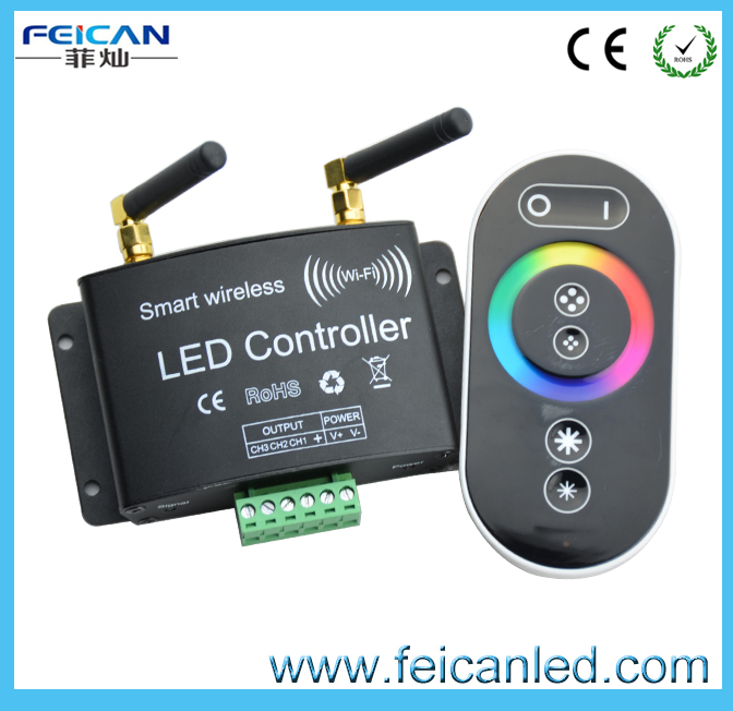 RGB Wifi controller led newest remote controller for led rgb products
