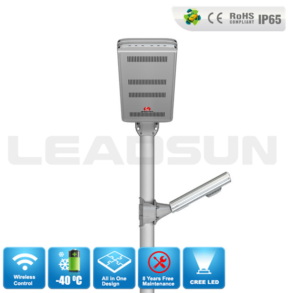 40W Solar Power System Led Solar Street Light Price