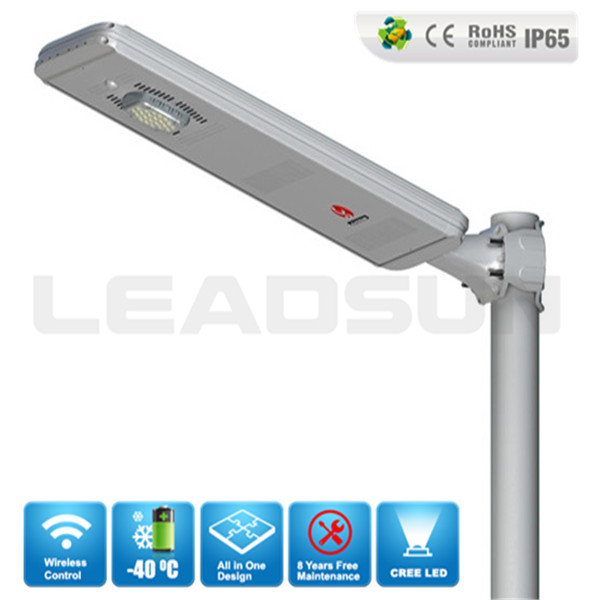 Waterproof Integrated solar led street light
