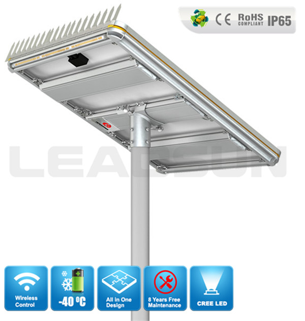 120W 200W Solar Energy System Solar Power Street Light