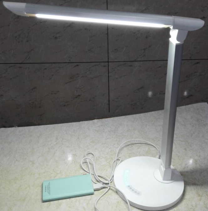 10W Natural Light Smart LED Desk Lamp Dimmable with Tilting Head