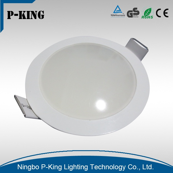 China supplier lowest price high lumen led ceiling panel light round integrated bathroom led light
