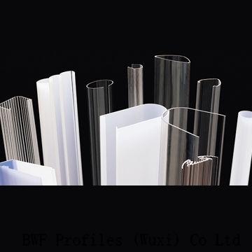 LED streetlight housings, custom plastic material