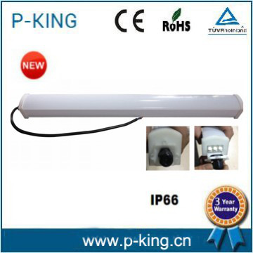 LED INTEGRATED WATERPROOF LIGHTING 9W 800LM IP66 CRI>75 PF>0.8,warranty 2yearsPC+PChousing BV/CB CE