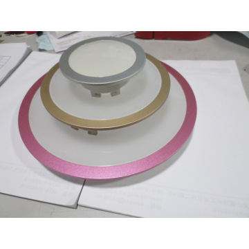 LED panel light round integrated light with remote control dimmable TUV,CE,GS,VDE,RoHS