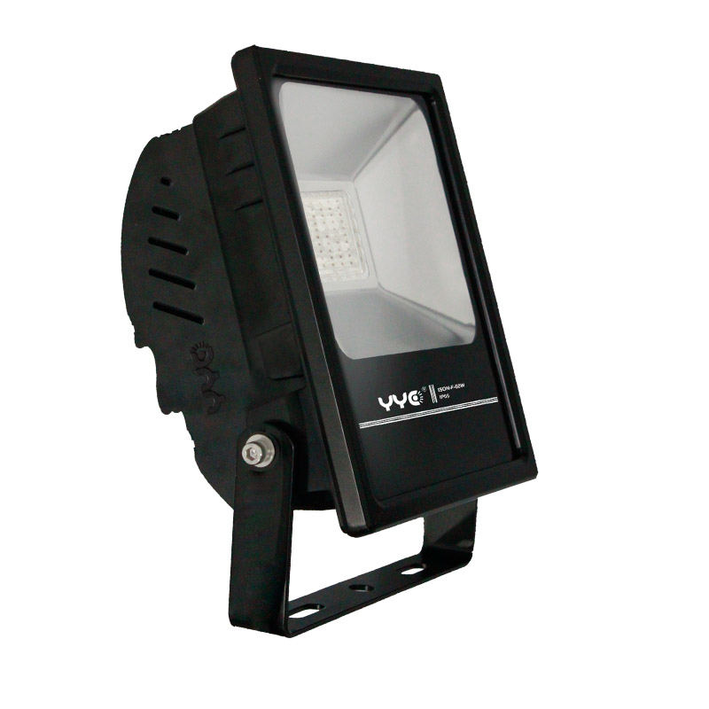 50w die-cast aluminum high lumen led flood light