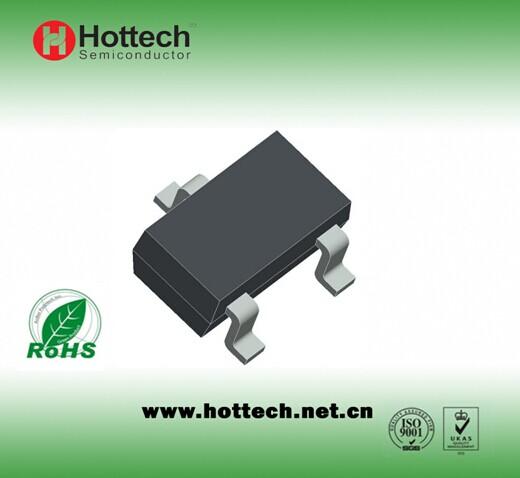 Bipolar small signal transistor SOT-23 BC847A/B/C
