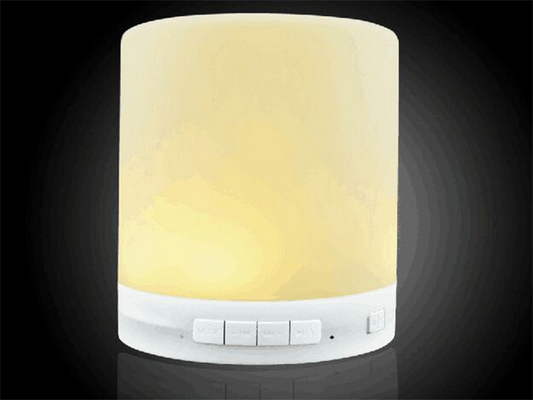QJ-A2 ZHIXIANG LED Portable wireless bluetooth speaker music lamp