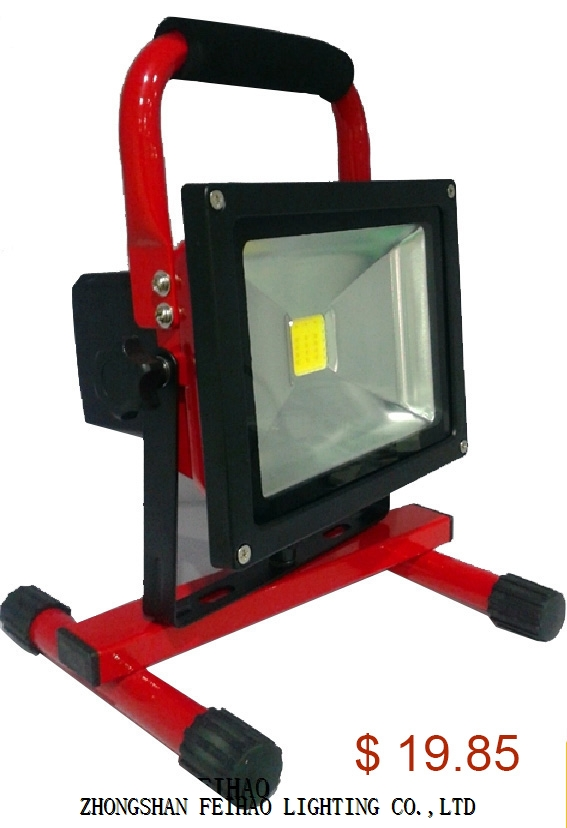 Certificate 20W RECHARGEABLE LED FLOODLIGHT