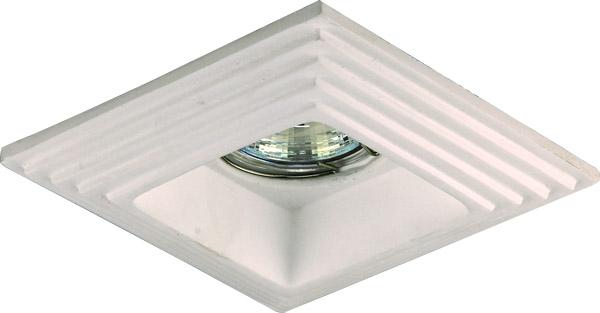 2013 Hot sale classic europe style gypsum Plaster Housing lighting fixture With GU5.3 Lampholder