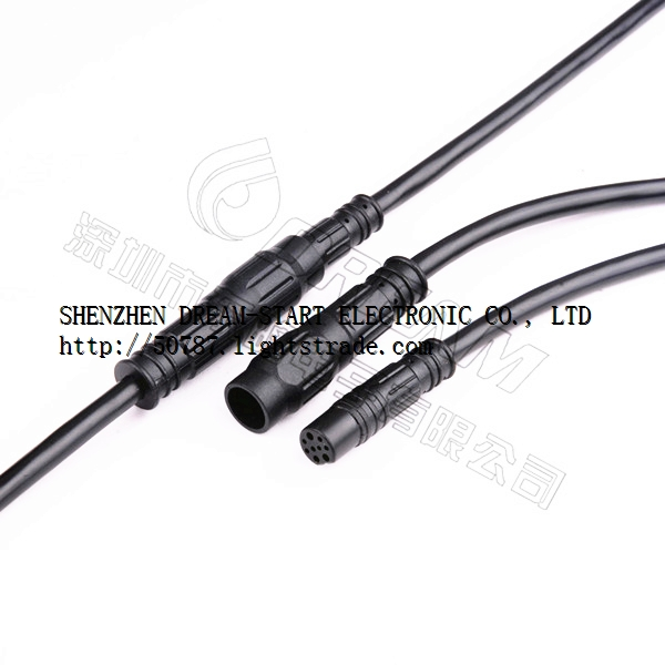 IP66 cable waterproof connectors for a motor drive application