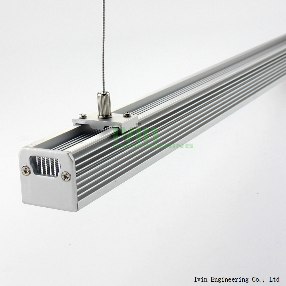 LED suspended ceiling light hanging linear light LED extrusion profile in Heat Sink/ Radiator ...