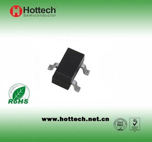 Plastic encapsulate transistor BC818