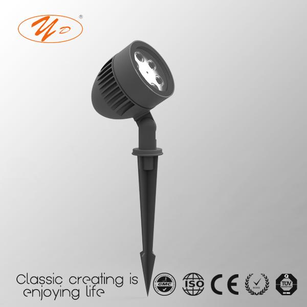 Yunda 3728 6W CE CCC IP65 Outdoor Spot Lamp
