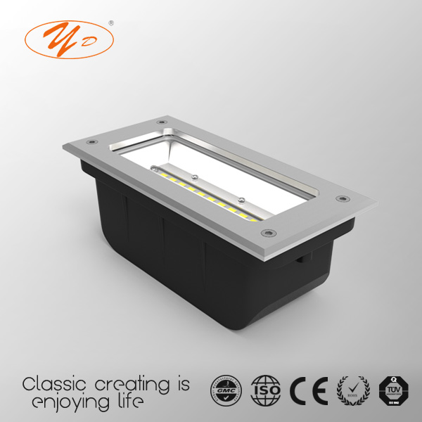 Yunda 093004 5W CE CCC IP65 Aluminum body LED Step lights