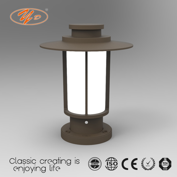 YUNDA 026081-30 Outdoor Garden Light lawn lamp Waterproof IP54 LED 1Wx6 CE CCC approved