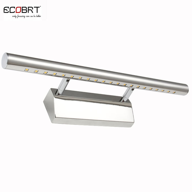 Stainless steel bathroom mirror LED light 5530-7w 220v AC