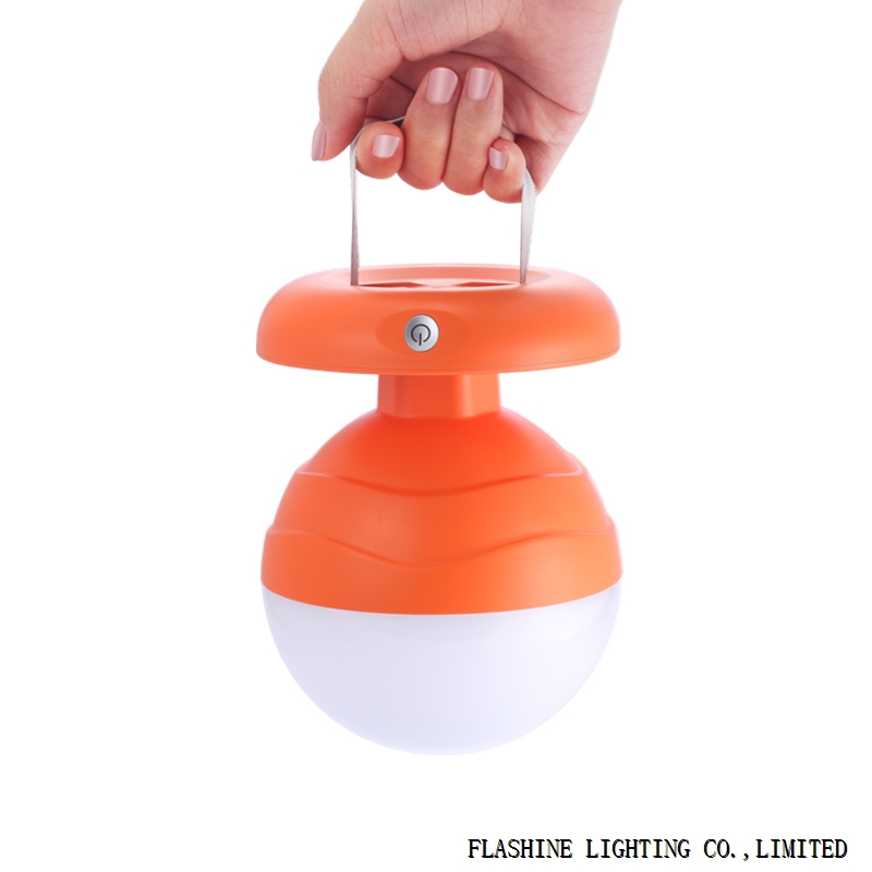 Portable LED Bedside Lamp / Night Light / Camping Lantern - S101,Orange