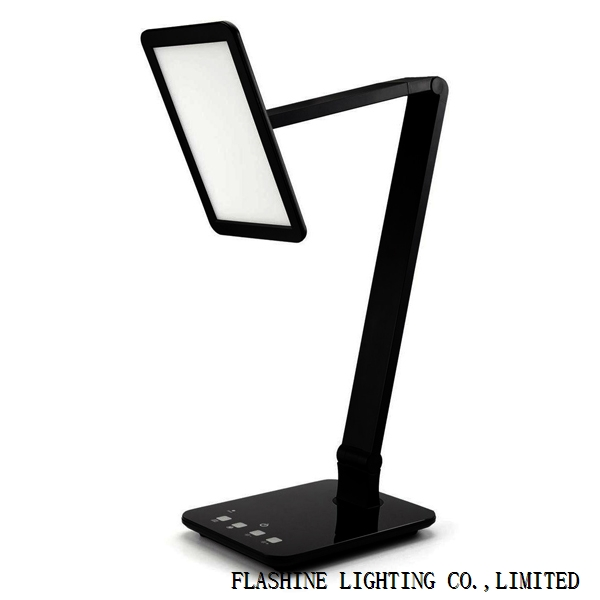 LED Desk Lamp (Large Emitting Panel, Gradual Dimming and Color Temperature Control, Eye-caring),X100