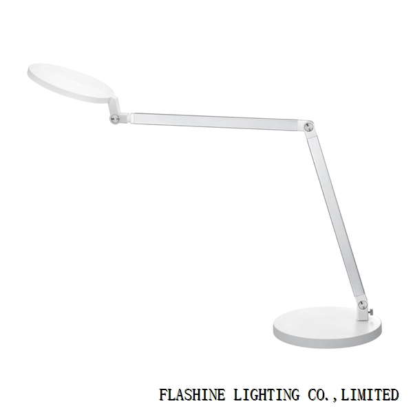 Buttonless Smart Touch LED Task Lamp,R100 White