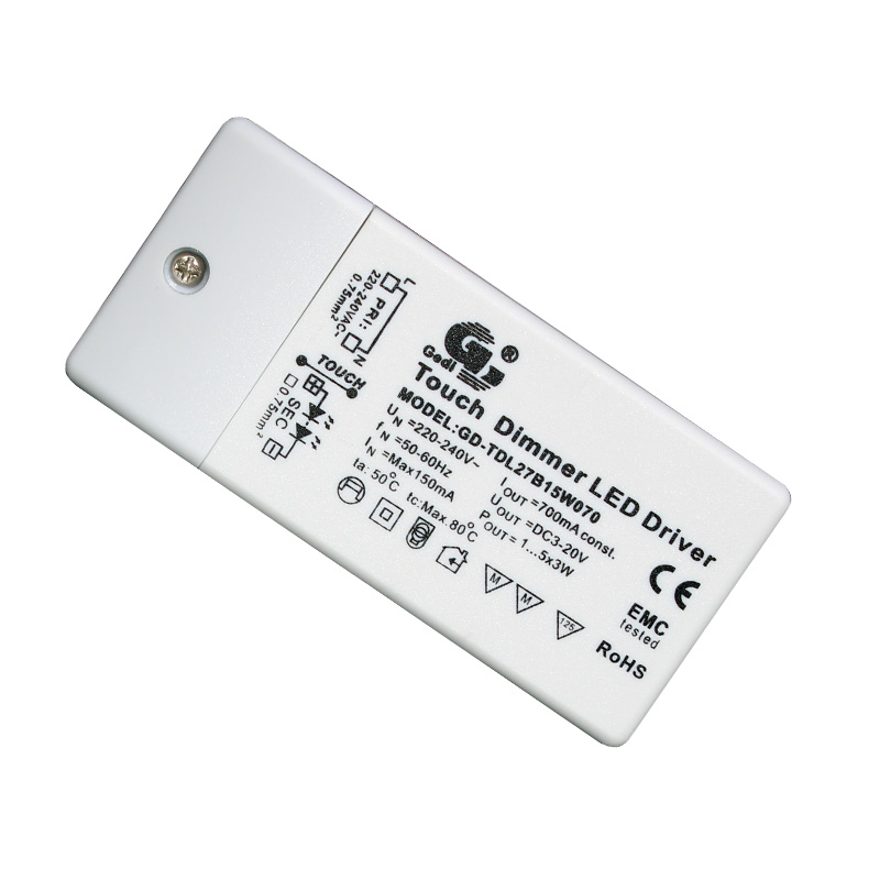 Touch Dimmable LED Driver GD-TDL27B