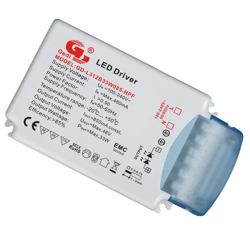 0-10V/Keypad/Touch Dimmable LED Driver GD-VDLL312S