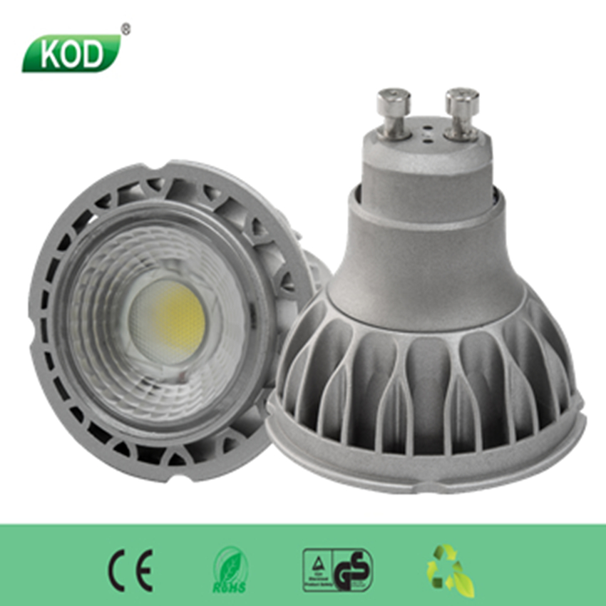 Spot Light led OSRAM chip COB Gu10 5W Gu10 Led Lighting