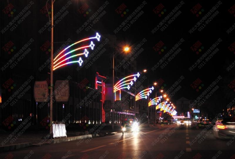 LED strip light for motif decoration
