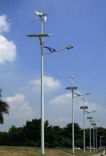 180W LED wind solar hybrid street light