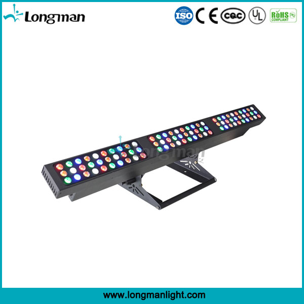 high power 90pcs 3w rgbaw LED Linear Wash Light