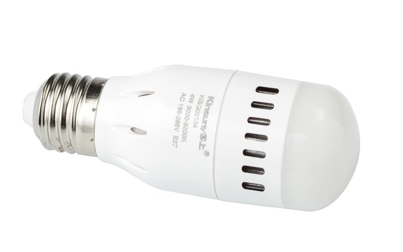 plastic LED bulb 3W 4W 8W