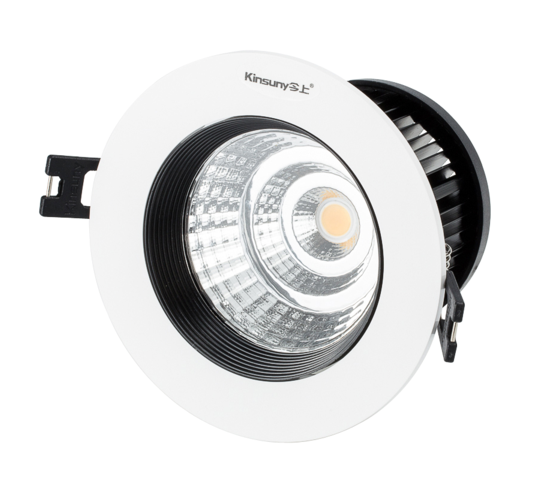 cob led adjustable recessed spotlight 4W 8W 12W 25W