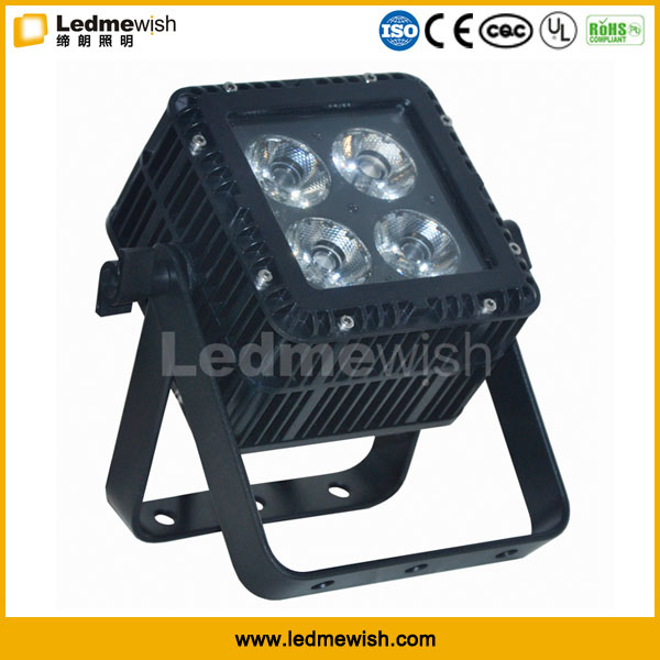 high power RoHS 415W rgbw 4in1 dmx512 led waterproof outdoor lighting