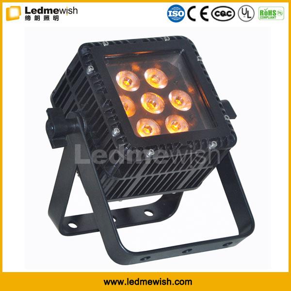 CE outdoor 4pcs 15W RGBW IP66 dmx high voltage landscape lighting