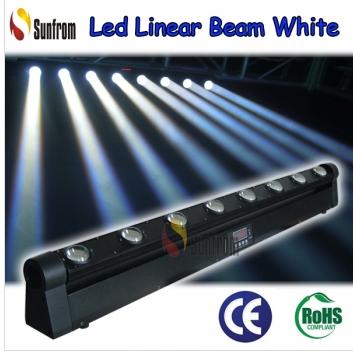 8 pcs 10W White Led Scanner disco light