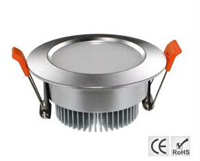 Led downlight 7W Aluminum Round ceiling lights 90-95mm cutout