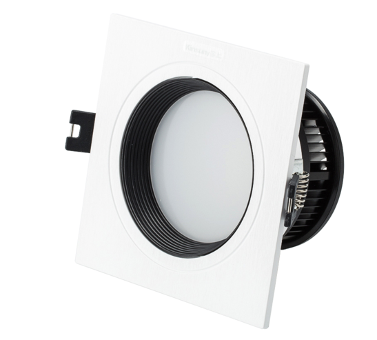 recessed adjustable dimmable square led downlight with 2 years warranty