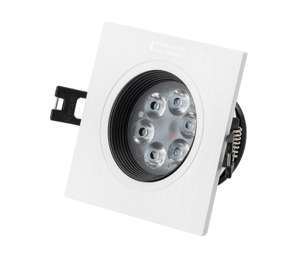 Commercial Store recessed adjustable led grille light CE RoHs