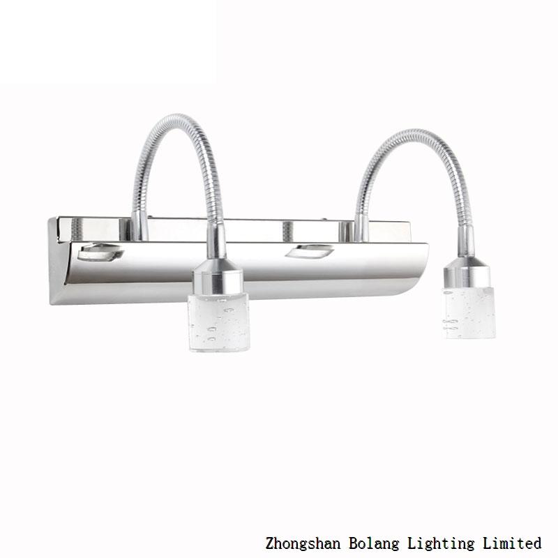 6w 3-crystal lamps LED bathroom mirror light 5660