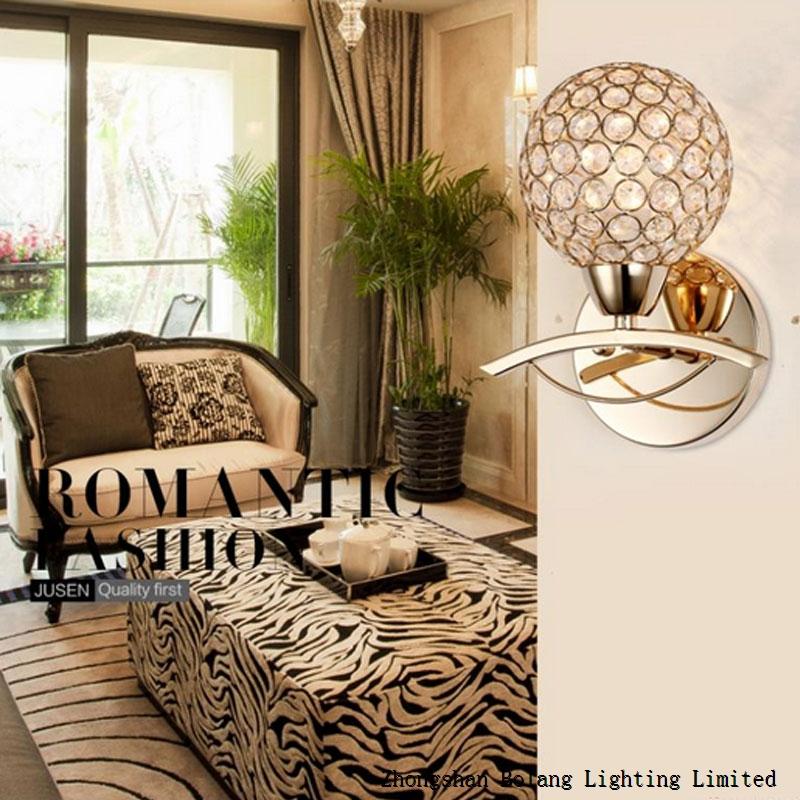 E14 Bulb K9 crystal indoor wall lamp BL1251 JUSHEN