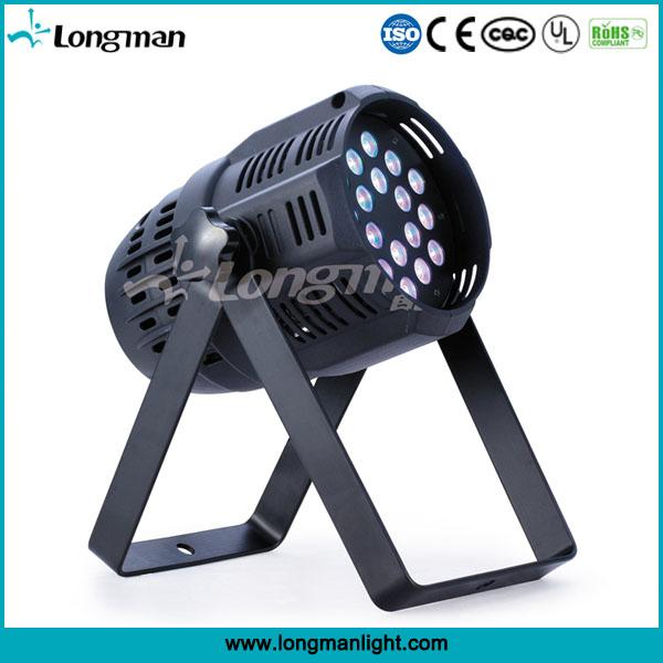 super bright Indoor 18pcs 3W FULL RGB LED par light