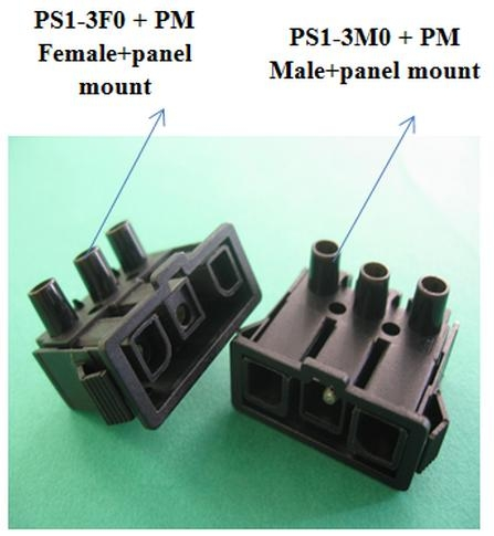 Screw Type Panel Mount Socket Connector