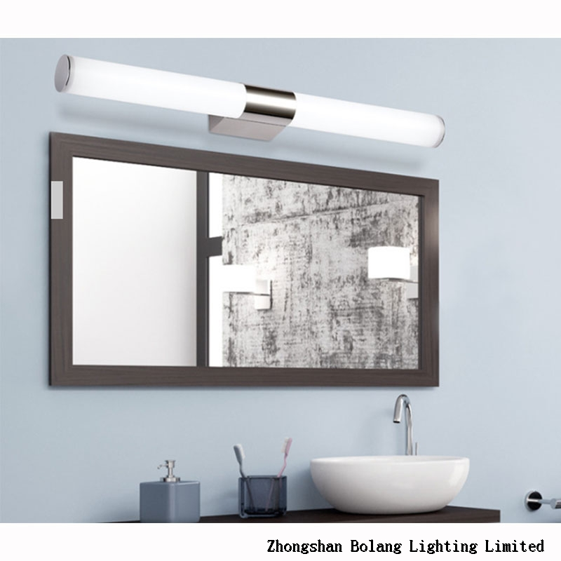 Acrylic line indoor mirror light 6020-8w 220v ac ce Rohs