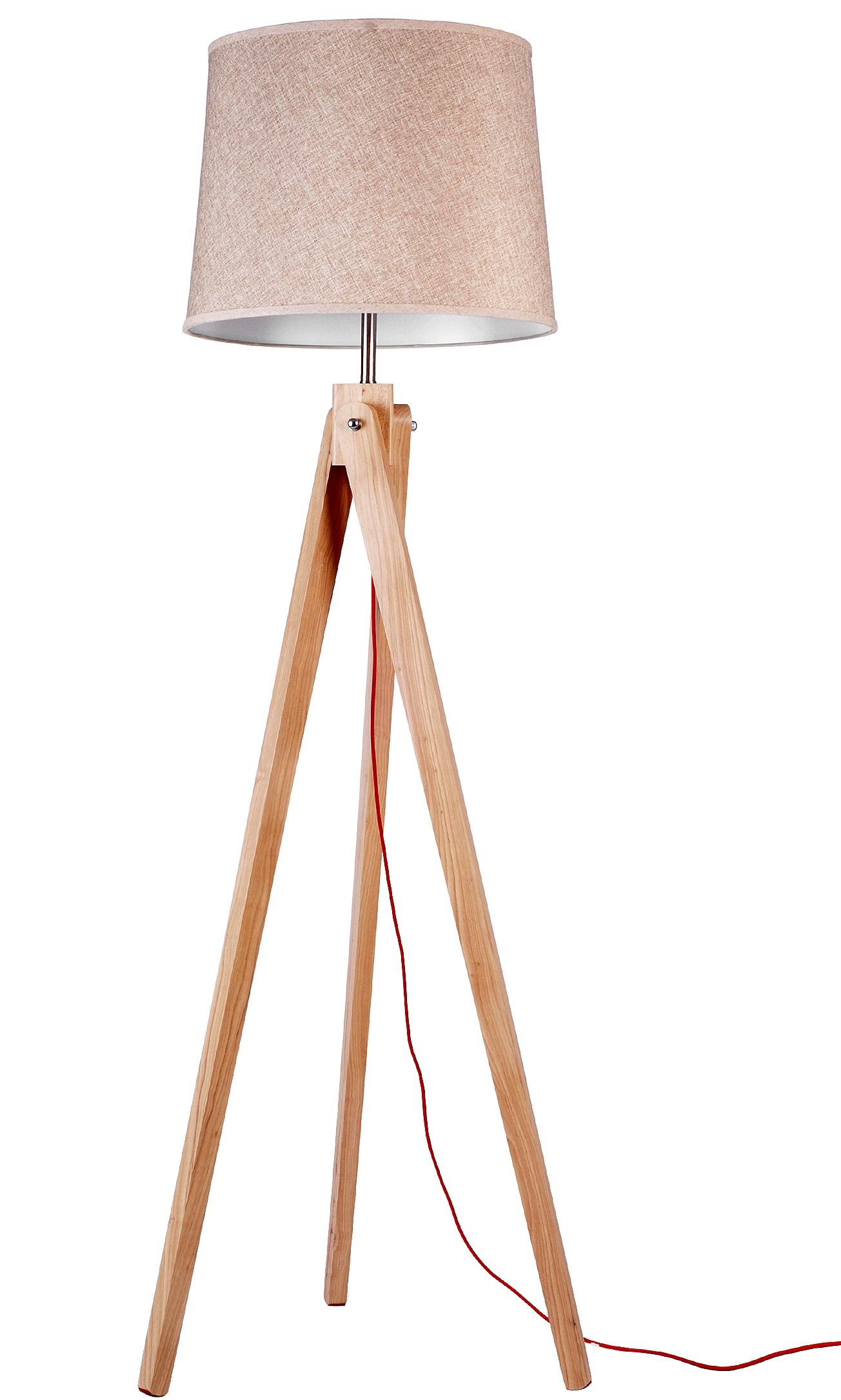 Modern Natural Wood Floor Lamp Reading Lamp Mdq Lighting Co Ltd