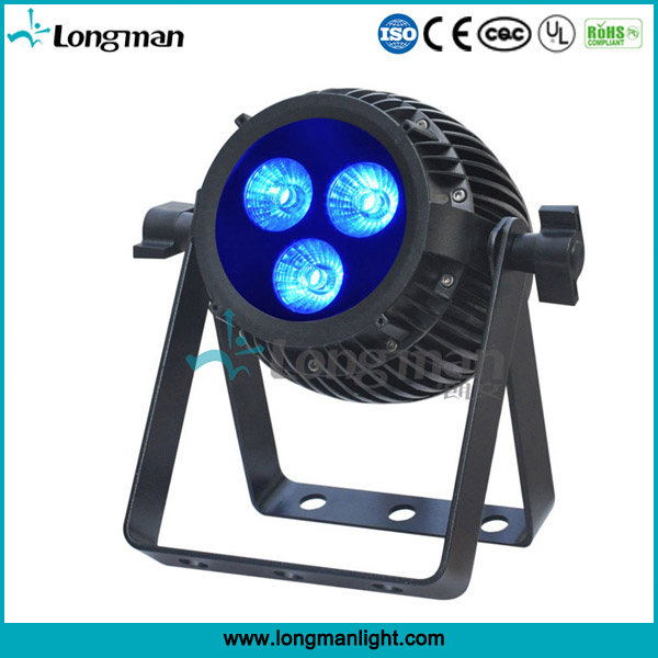 outdoor DMX CE 314w rgbaw uv led par can light for stage