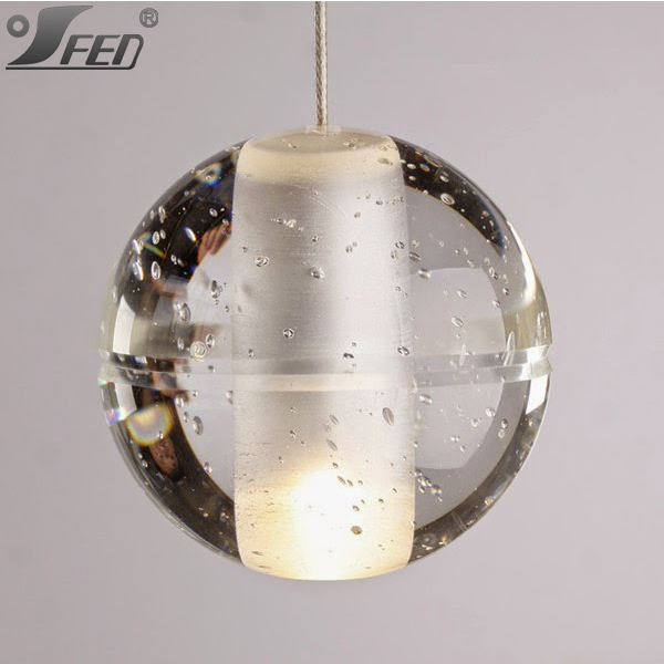 Hot sell glass bulbs decorative led crystal chandelier