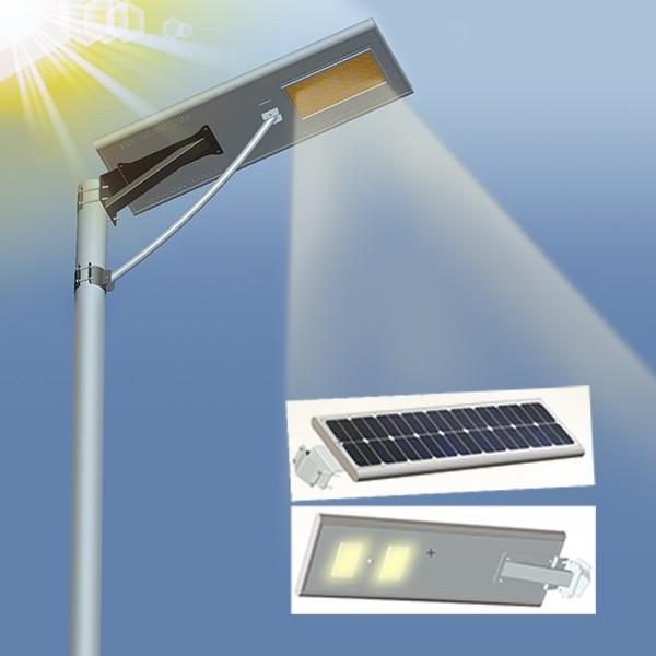LED lamp 12W durable integrated solar street light all in one solar lighting 12w