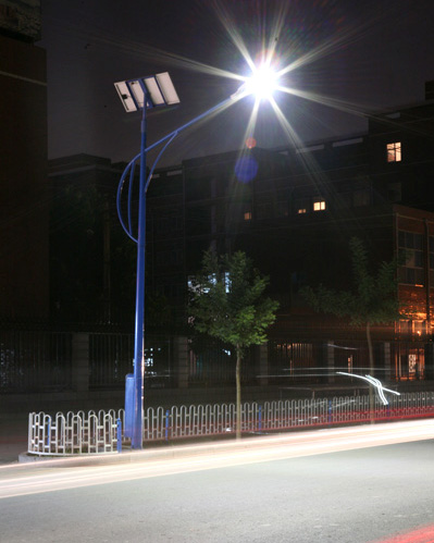 LED lamp 30W solar street lamp